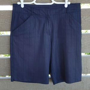 Women's Nike Golf Fit-Dry Short pant Navy blue 8